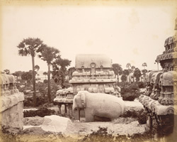 The Raths, the Seven Pagodas near Madras